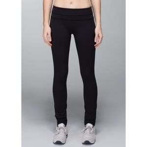 Lululemon Skinny Groove Pants